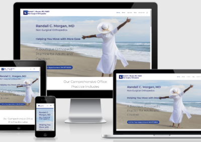 Dr. Randall C. Morgan, Non-Surgical Orthopedics